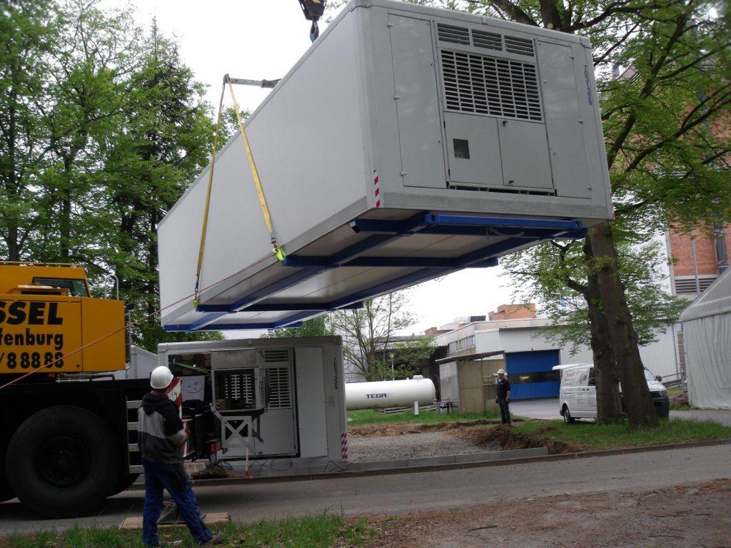 Beispiel einer Kühlcontainer SuperBox zum mieten