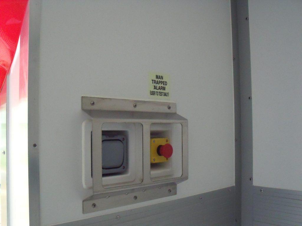Tiefkühlcontainer mieten mit Innenraumsicherung
