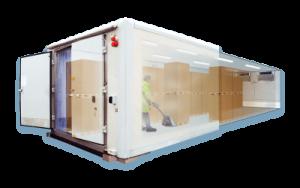 Klimalager und Wärmelager SuperBox Klima & HotBox mieten